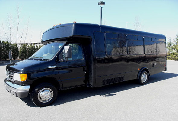 18 Passenger Party Buses Banner-County