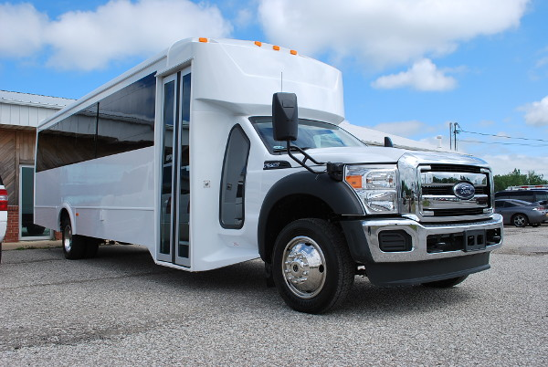22 Passenger Party Bus Rental Knox-County Nebraska