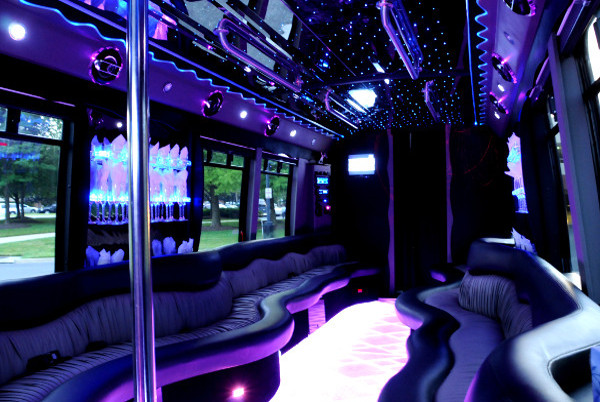 22 Seater Party Bus Red-Willow-CountyNE