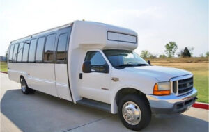 20 Passenger Shuttle Bus Rental Omaha