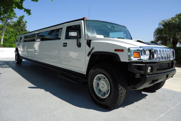 Falls City White Hummer Limo Rental